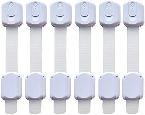 6 Pieza Cerraduras de Seguridad para Niños, frdzsw ajustables ...