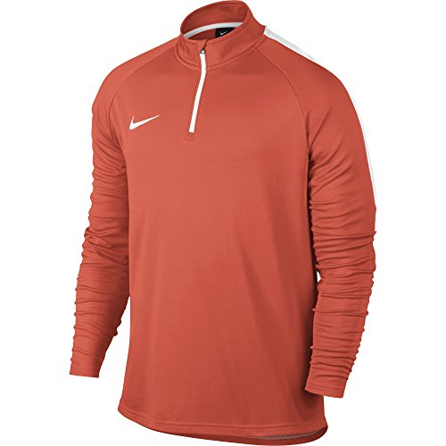 Hombre Dry orange Nike blanco Dril Larga M Top Manga blanco naranja para turf Acdmy 811Hr5qw