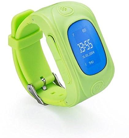 Toggr Junior Verde Smartwatch para niños con GPS Tracker ...