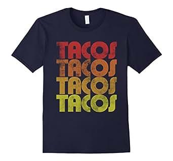 Men's Retro Tacos t-shirt Vintage Taco Tuesday shirt  3XL Navy