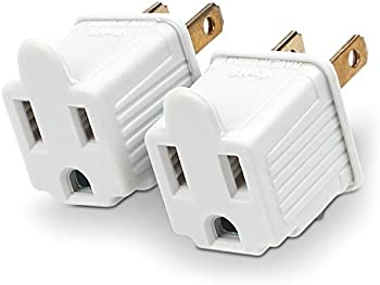 2-Pack CyberPower MP1043WW Grounding Adapter