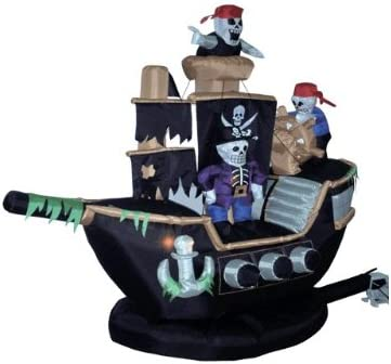 Pirate Ship Outdoor Inflatables