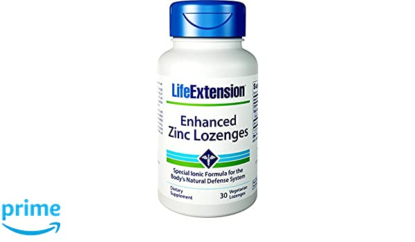 Life Extension Enhanced Zinc Lozenges (Peppermint Flavour, 30 Vegetarian Capsules) by Life Extension: Amazon.es: Salud y cuidado personal