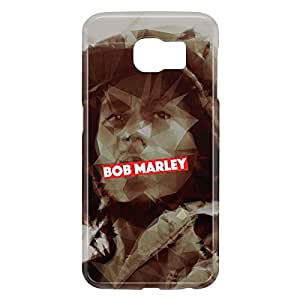 Loud Universe Samsung Galaxy S6 3D Wrap Around Bob Marley Print Cover - Multi Color