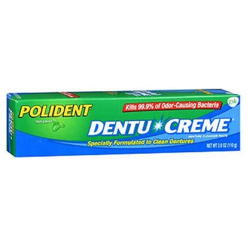 Polident Creme Dentu - Polident Dentu Creme - 3.9 oz