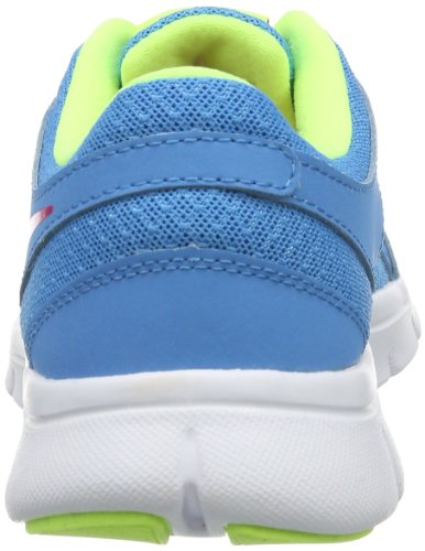 Nike Flex Experience (GS) - Zapatillas de atletismo y running para niña, color azul / rosa / blanco Azul / Rosa / Blanco