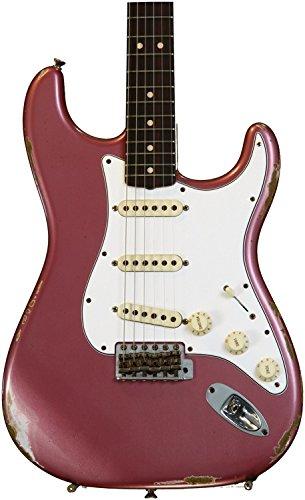 Fender Custom Shop 1965 Relic Stratocaster - Burgundy - Mist Fender