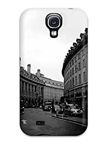 Charles C Lee Perfect Tpu Case For Galaxy S4/ Anti-scratch Protector Case (black And White)