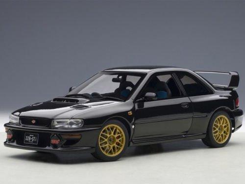 Subaru Impreza 22B Black (Upgraded Version) Limited Edition to 1500pcs 1/18 by Autoart ()