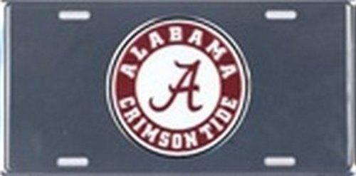 Alabama BAMA Chrome LICENSE PLATES Plate Tag Tags auto vehicle car front