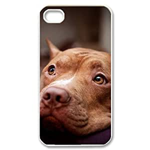 GTROCG Pit Bull Terrier Pattern Phone Case For Iphone 4/4s [Pattern-1]