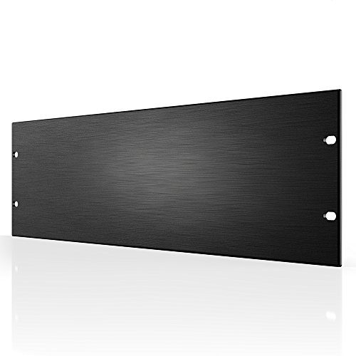 "AC Infinity Rack Panel Accessory Blank 3U Space for 19"" Rackmount, Premium Aluminum Build and Anodized Finish"
