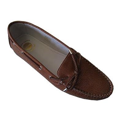 Pielsa 8316 Marrón - Mocasín de piel para mujer: Amazon.es: Zapatos y complementos