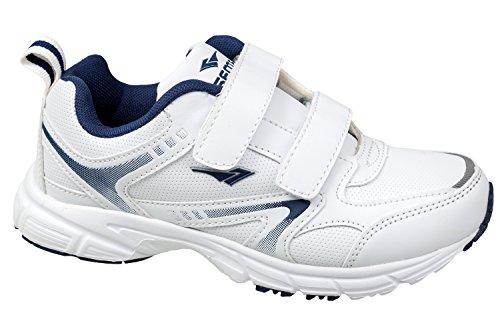 gibra - Zapatillas de Material Sintético para mujer Weiß/Dunkelblau