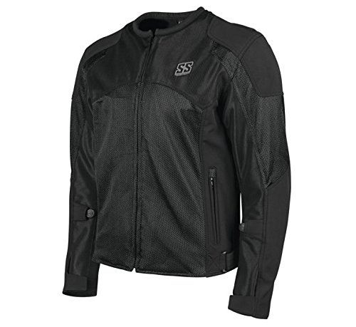 Speed Mesh Jacket - Speed & Strength Midnight Express Mesh Jacket (Large) (Black)
