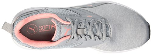 Quarry Unisex Comet soft Cross Puma Zapatillas Peach Adulto de Fluo Gris Nrgy Xx8Bpqnwg6