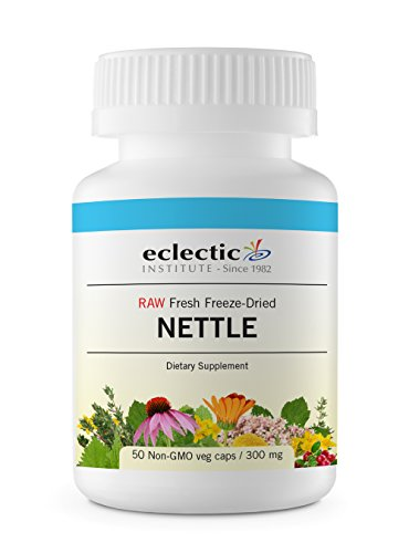 Eclectic Nettles Leaf Freeze Dried Vegetables, Blue, 50 Count (Freeze Leaf Dried Nettle)