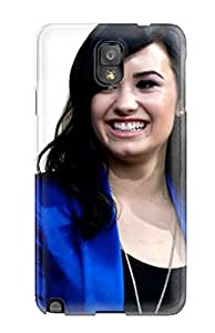 Hot Galaxy Note 3 Hard Back With Bumper Silicone Gel Tpu Case Cover Demi Lovato 45 3699931K91554797