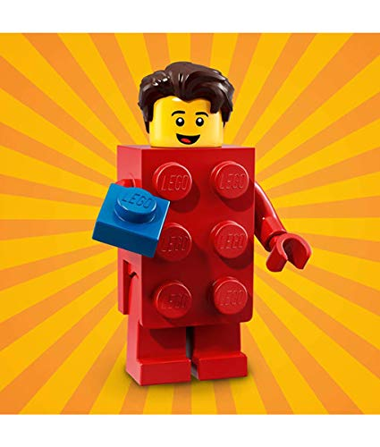 LEGO Series 18 Collectible Party Minifigure - LEGO Brick Suit Guy (71021) (Lego Movie Minifigs)