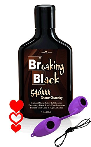 Breaking Black 546xxx Tanning Bronzer 9oz Tanning Pack -
