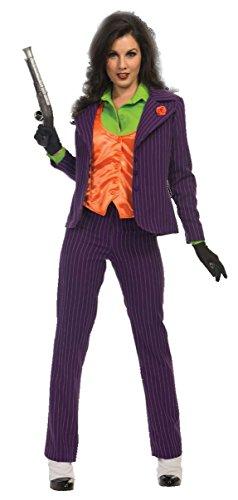 Womens Premium Joker Costume Large