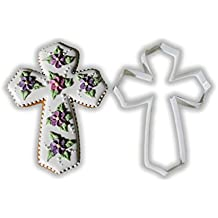 Cross By Tundes Creations Cookie Cutter - LARGE - 4 Inches