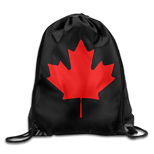 Djb568kk Canada Maple Leaf Canadian Flag Drawstring Bags Leisure Backpack For Teens College