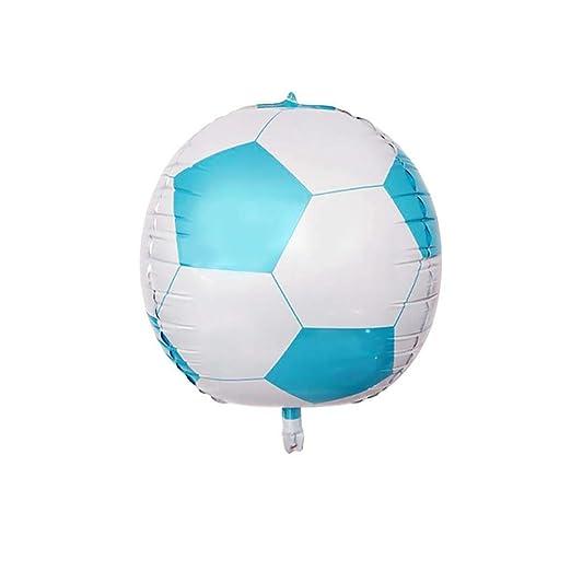 Globos Wisilan con forma de balón de fútbol, globos de aluminio ...