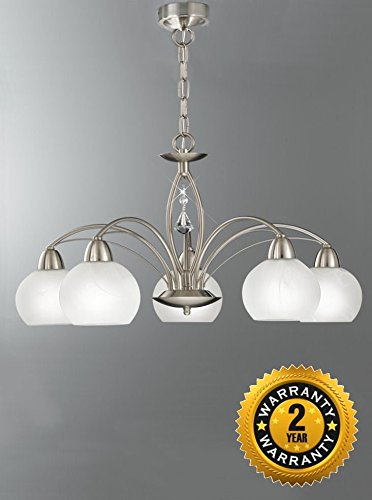 franklite lighting thea 5 light fitting fl2277 5 amazon co uk lighting