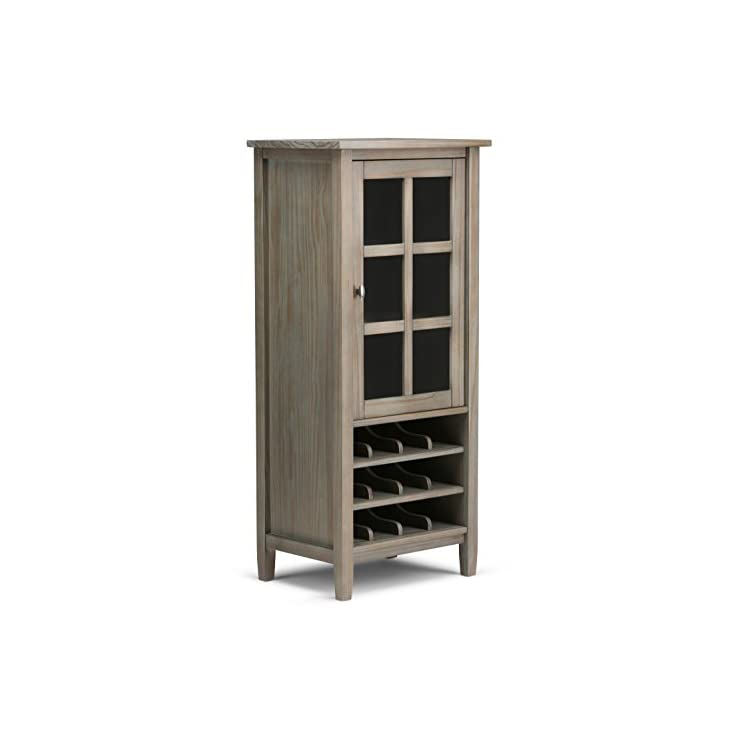 Simpli Home Warm Shaker Wine Storage Cabinet Review