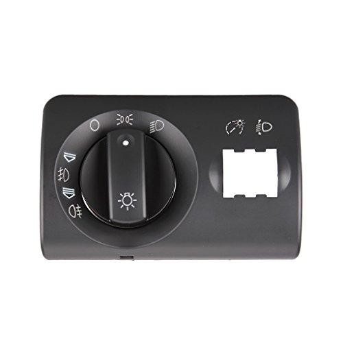 Fog Screens Light (Dromedary Headlight Fog Light Control Switch Repair Kit Cover for Audi A6 C5 2002-2005)