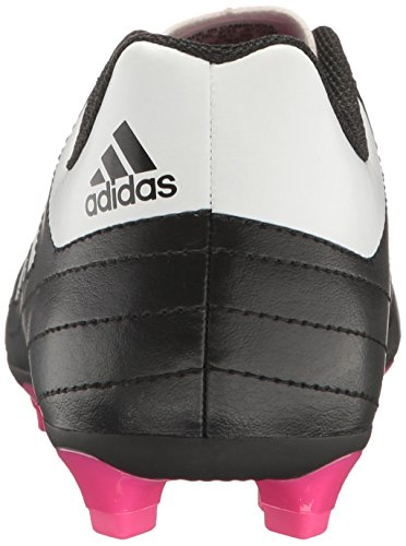 Pictures of adidas Kids' Goletto VI J Firm Ground Black/White/Shock Pink 8