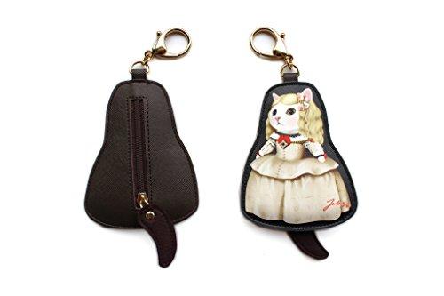Jetoy Cats Choo Choo Bag Charm, Margarita