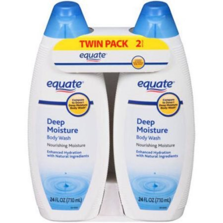 Equate Deep Moisture Body Wash, 24 fl oz
