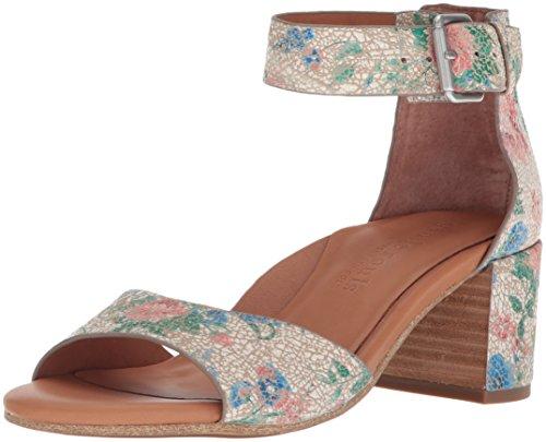 Beige Ankle Strap Gentle Heel Christa Multi Heeled Women's Sandal Mid Souls nYSnrz