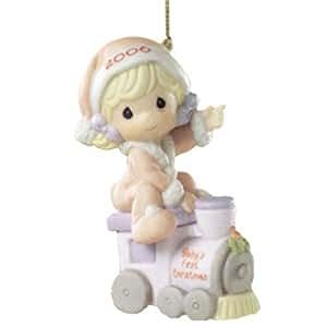 "Amazon.com: Precious Moments ""Baby's First Christmas ..."