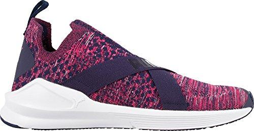 外交問題ハプニング出席するプーマ シューズ スニーカー PUMA Women's Fierce EvoKNIT Casual Shoes NavyPink [並行輸入品]