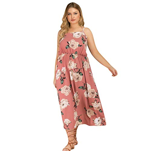 MILIMIEYIK Blouse Women's Sleeveless Adjustable Strappy Summer Beach Swing Dress