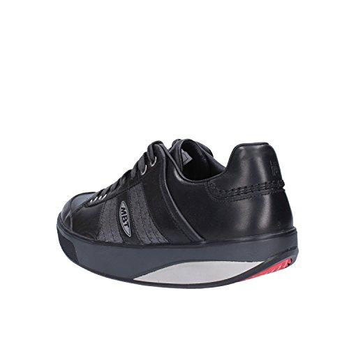 Gris EU Sneakers Mode 37 MBT Basket Noir Cuir Femme q0pxFAwX