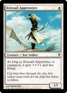 Magic: the Gathering - Kitesail Apprentice - Worldwake - ()