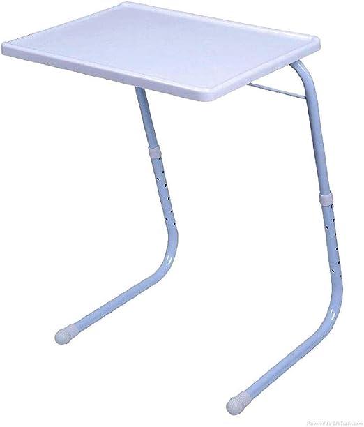 King-top Mesa Auxiliar Plegable Portable Mesas de salón para ...