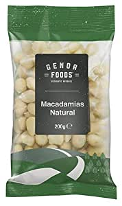 Genoa Foods Macadamias Natural, 1 x 200 g
