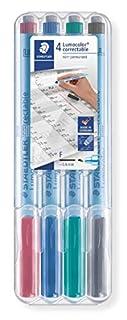 Staedtler Lumocolor Correctable Pens (305FWP4) (B004SZ0YYU) | Amazon Products