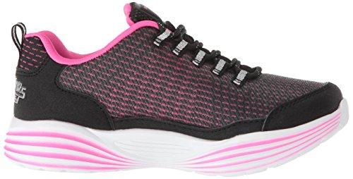 Black Girl Skechers rosa Luxe Luminators Bkpk Sneakers n0COWCPrx