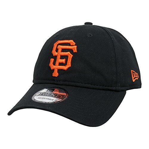 New Era 9TWENTY MLB Team Unstructured Wash Cap - San Francisco Giants/One (Wash Mlb Cotton Hat)