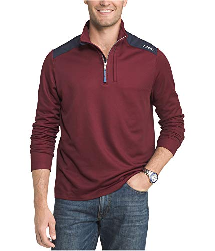 IZOD Mens Move It Performance Pullover Sweater, Red, XX-Large