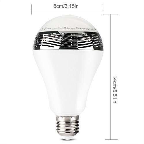 Bobonida Bluetooth Color Changing Led Light Bulb With