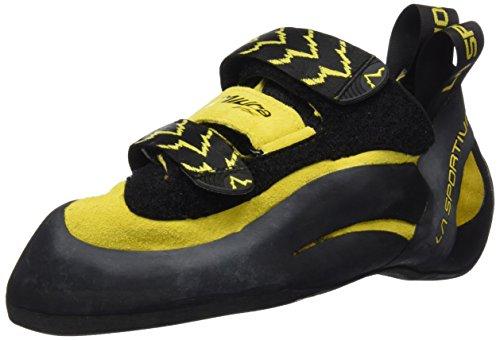 La Sportiva Men's Hiking Shoes - Black/Yellow, Multi-Coloured Gelb