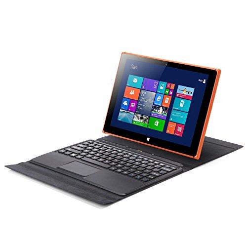 iRULU Walknbook 2 Tablet / Laptop 2-in-1 (W20) Windows 10 Notebook & Computer mit abnehmbarem Keyboard Intel Quad Core Prozessor Perfekt für Arbeit Spiele & Unterhaltung 2 + 32 GB Speicher (32GB,Orange)