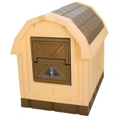 ASL Solutions Foam (Styro/EPS) Insulated Dog Palace, Standard, Brown